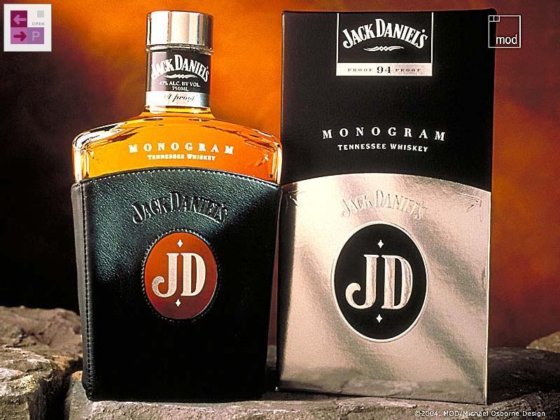 Bottling name jack daniels monogram bottled by jack daniel distillery